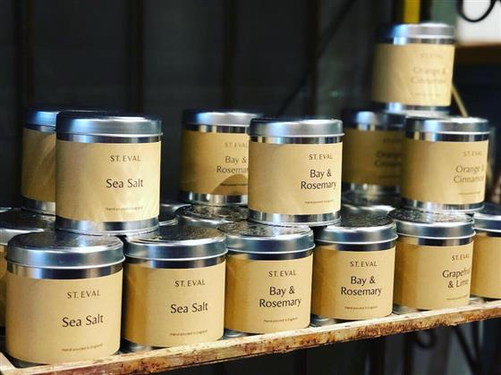 St Eval Tin Candles